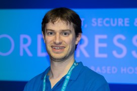 Daniel Foster, co-founder of 34SP at WordCamp London 2016-4344