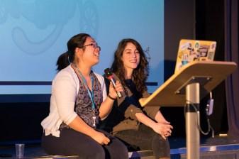 Jenny Wong, Ana Silva, Organizer at WordCamp London 2016-4624