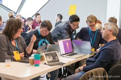 WordCamp London 2017 Contributor Day Pradeep Singh Photo-2178