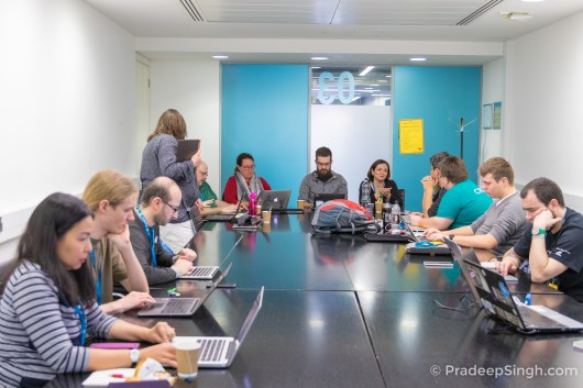 WordCamp London 2017 Contributor Day Pradeep Singh Photo-2247