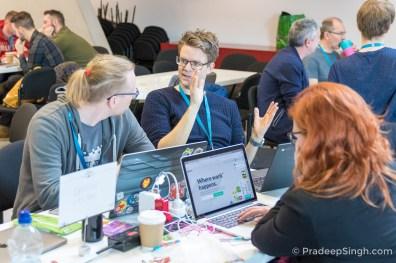 WordCamp London 2017 Contributor Day Pradeep Singh Photo-2309