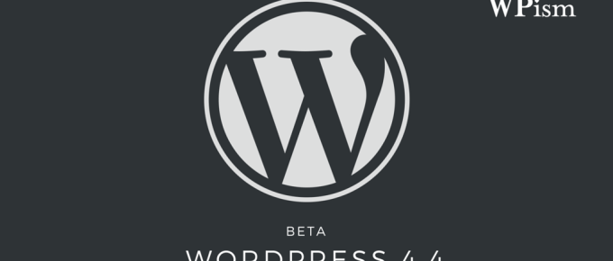 WordPress 4.4 Release version pre