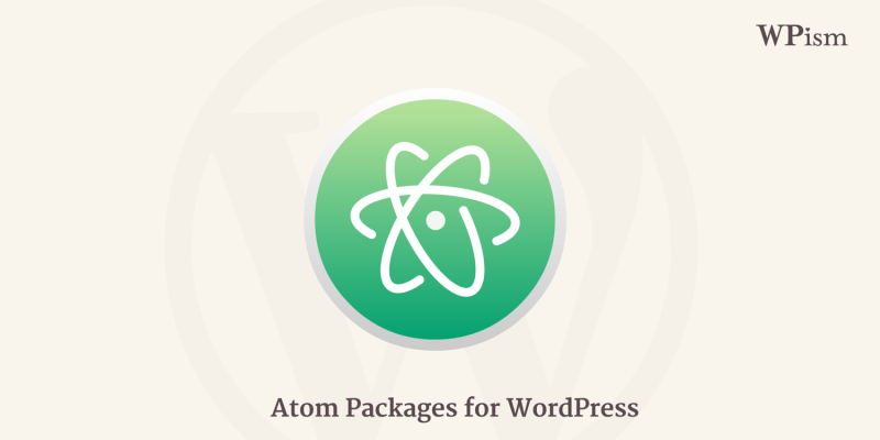WordPress Atom Packages for Atom Text Editor