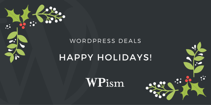 Christmas and New Year WordPress Deals 2016