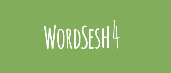 WordSesh 4, 2016 Event