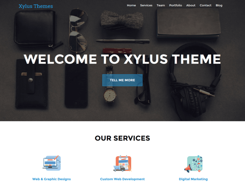 XT Corporate WordPress Theme Xylus Themes