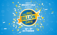 Flipkart Big Billion Days : 13th -17th October 2015