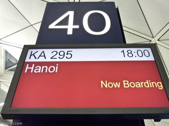 KA295 (CX6727) HKG-HAN Business Class