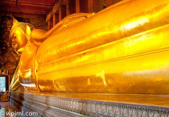 The Reclining Buddha Bangkok Wat Pho Temple