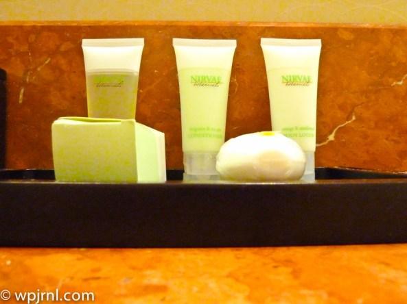JW Marriott Lima Standard Room - Bathroom Amenities