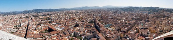 Florence Panorama - From Cathedral Tower