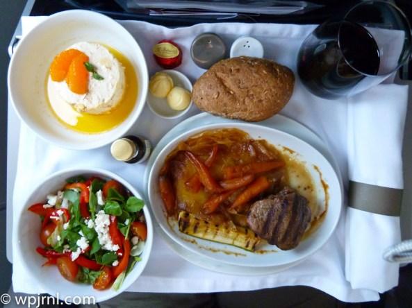 LAN Peru Lima to Santiago Premium Economy Meal - LA2631 Meal