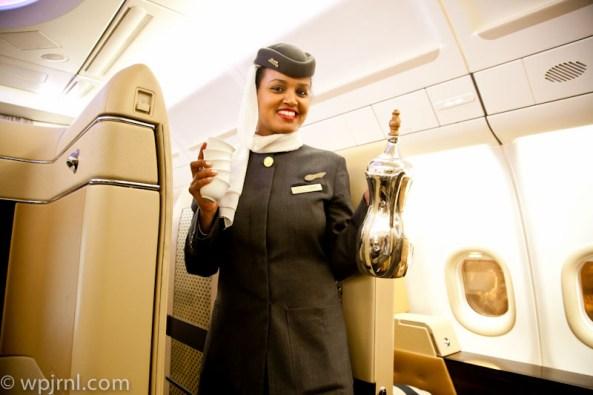 Etihad Airways New York to Abu Dhabi First Class -