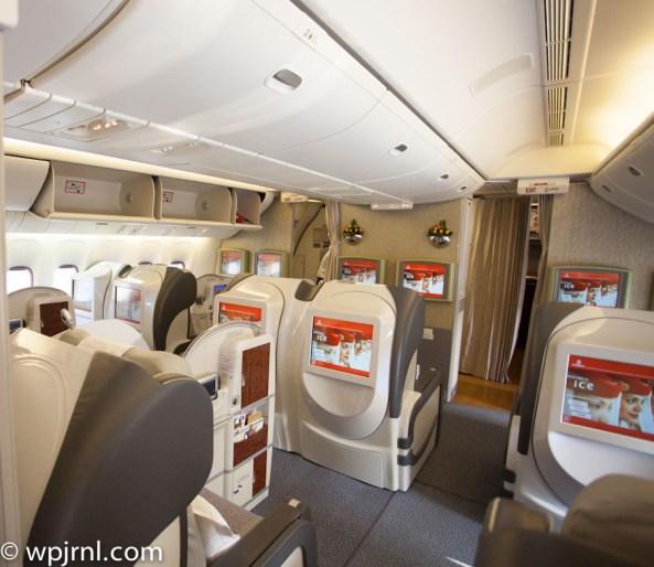 Emirates Boeing 777 200 First Class Wpjrnl