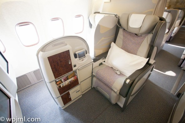 Emirates Boeing 777-200 First Class - Aisle Seat