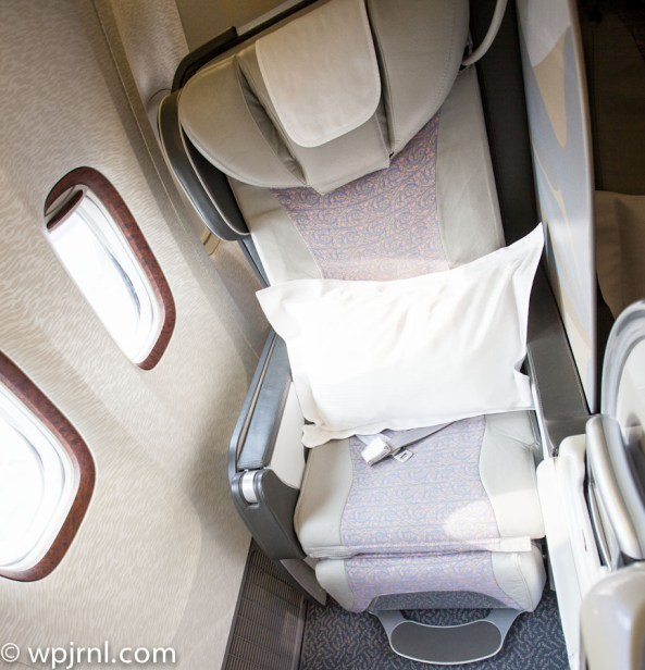 Emirates Boeing 777-200 First Class - Window Seat