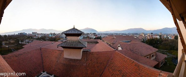 Room With a View: Hyatt Regency Kathmandu - from Presidential Suite