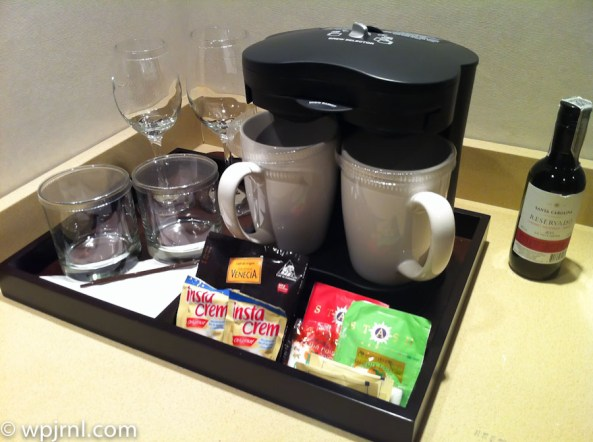 Hilton Bogota Executive Room - coffee