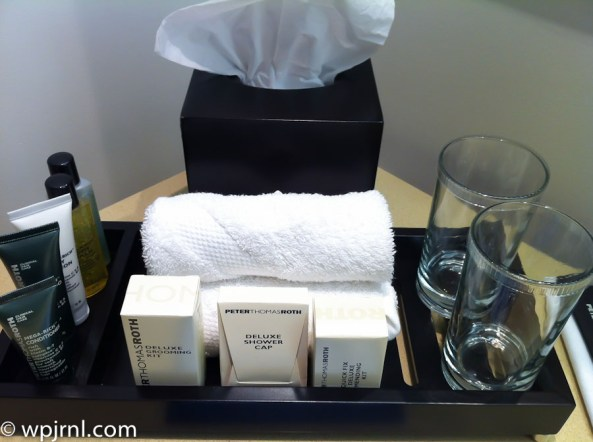 Hilton Bogota Executive Room - bathroom amenities