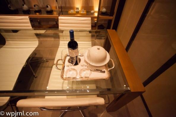 Park Hyatt Shanghai Diplomatic Suite - courtesy card amenities