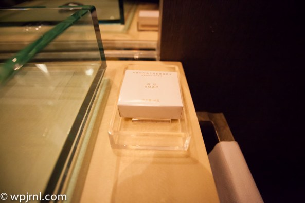 Park Hyatt Shanghai Diplomatic Suite - soap