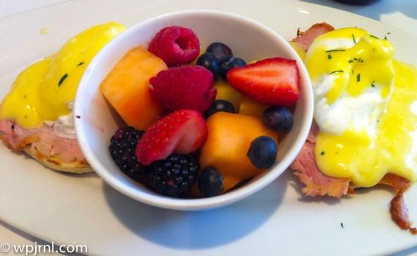 Eggs Benedict - Park Hyatt Toronto