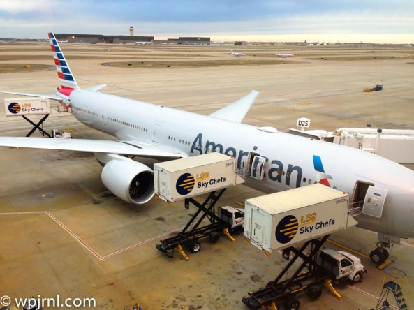American Airlines Boeing 777-300ER - Parked in DFW