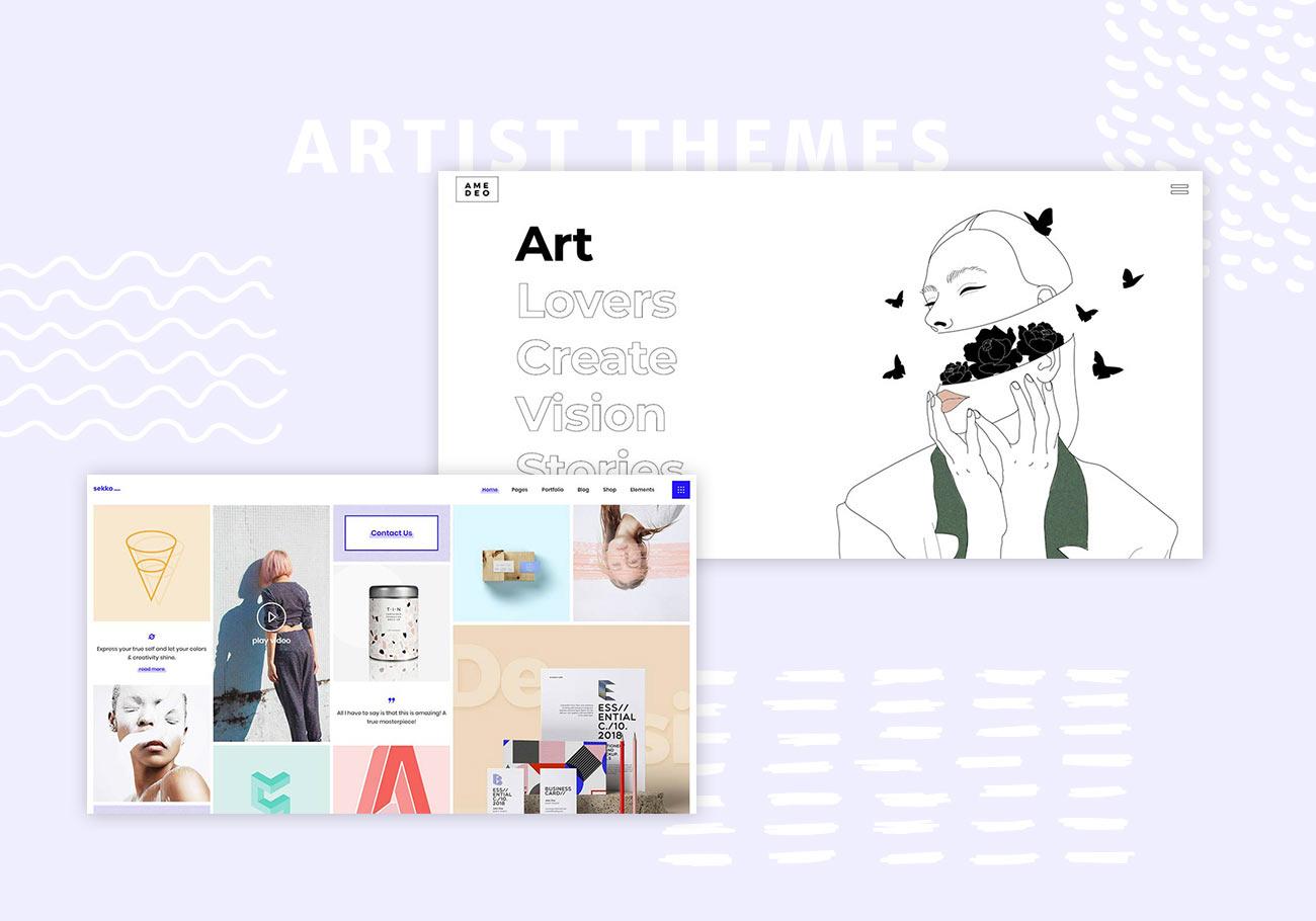 A portfolio website is an easiest and quickest way to showcase. 20 Best Artist Portfolio WordPress Themes For 2021 Wpklik
