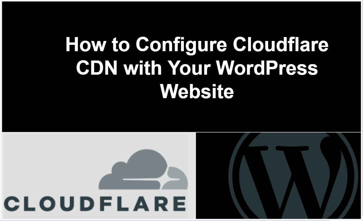 How to Install Cloudflare CDN in WordPress