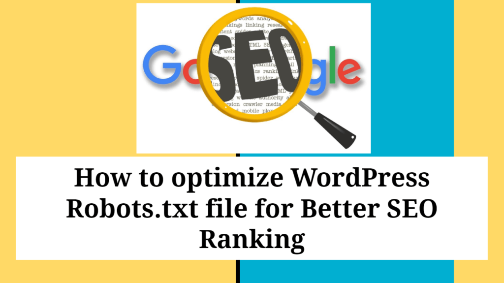 How to Optimize and Test WordPress Robots txt file