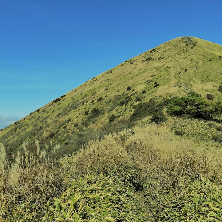 小国町の山歩きガイド「涌蓋山(わいたさん)」