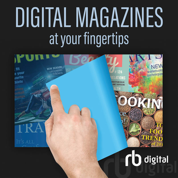 Image of RB Digital Magazines at your fingertips
