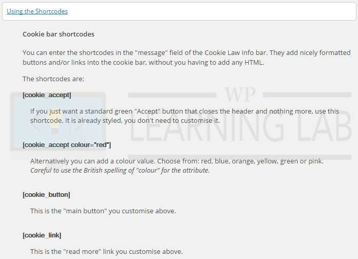 cookie-law-info-wordpress-plugin-5-shortcodes