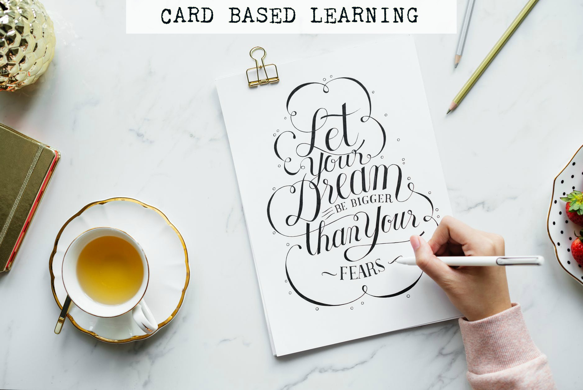 card based learning
