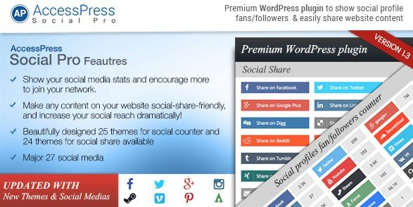 AccessPress Social Pro WordPress Plugin