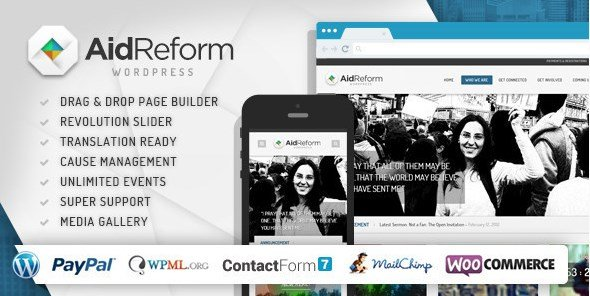 Aid Reform - NGO Donation and Charity Theme