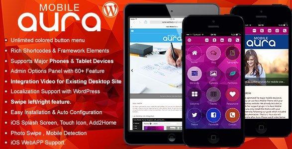 Aura Premium Mobile Theme