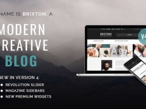 Brixton - WordPress Blog Theme