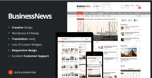 Business News - Responsive Magazine News Blog