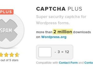 Captcha Plus WordPress Plugin