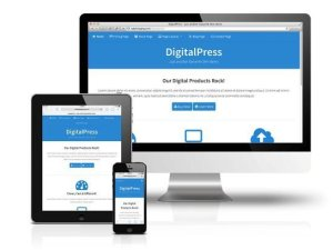 CobaltApps DigitalPress Skin for Dynamik Website Builder