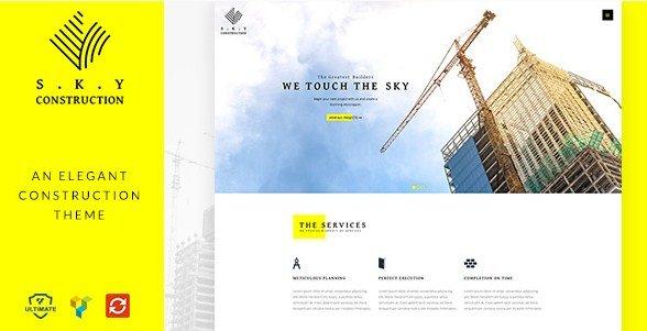 Construction - Responsive Construction Theme