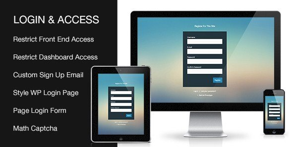 Custom Login & Access WordPresss Plugin