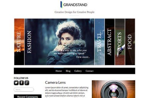 CyberChimps Grandstand WordPress Theme