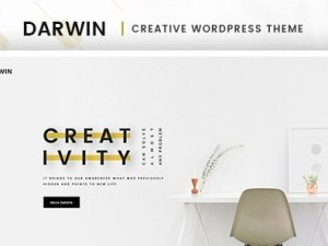 Darwin - Creative WordPress Theme