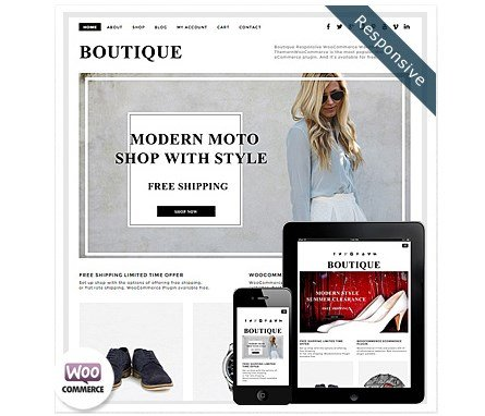 Dessign Boutique WooCommerce Themes