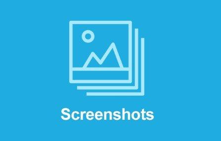 Easy Digital Downloads Screenshots Addon