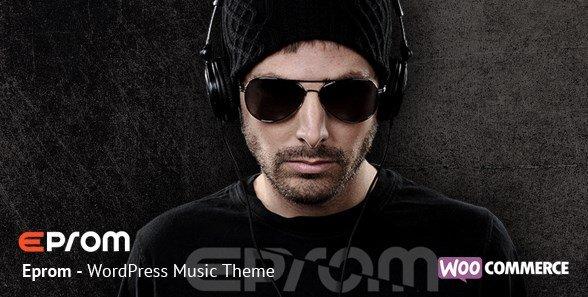Eprom - WordPress Music Band & Musician Theme