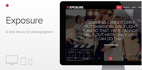 Exposure - Fullscreen Responsive Photography Theme