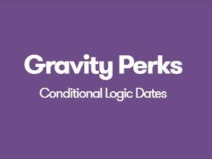 Gravity Perks Conditional Logic Dates